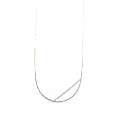 Leya necklace silver