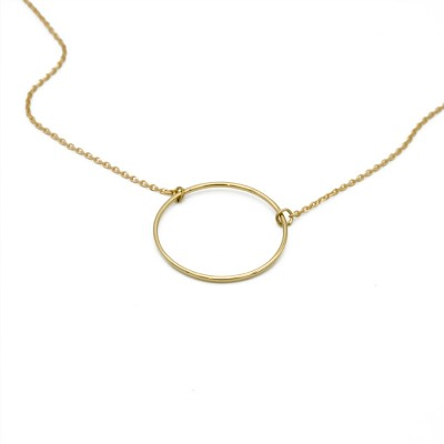 The Circle necklace (18k Gold)