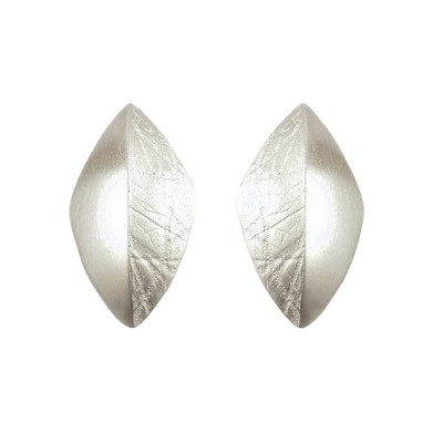 Small Versus silver earrings