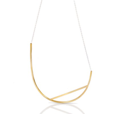 Leya necklace gold