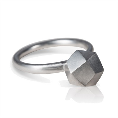 Polyrocks ring silver