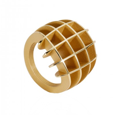 Spline Ring Gold