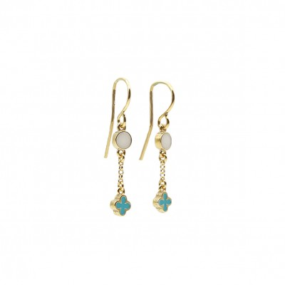 Amalia turquoise earrings