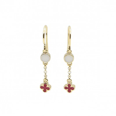 Amalia carmine earrings