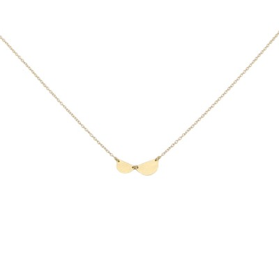 Bloom necklace gold