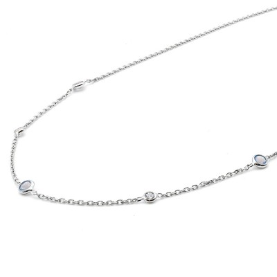 Laia necklace silver